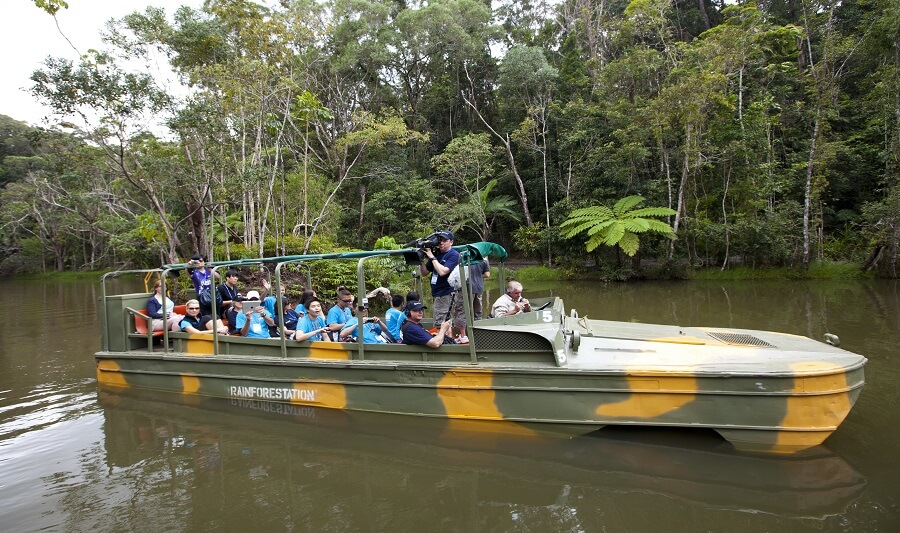 Army Duck Tour in Kuranda