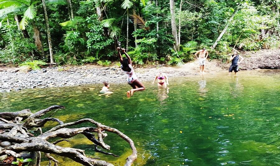 Fresh water creek