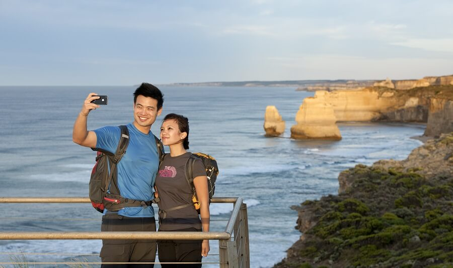 Viewing platform at the Twelve Apostles