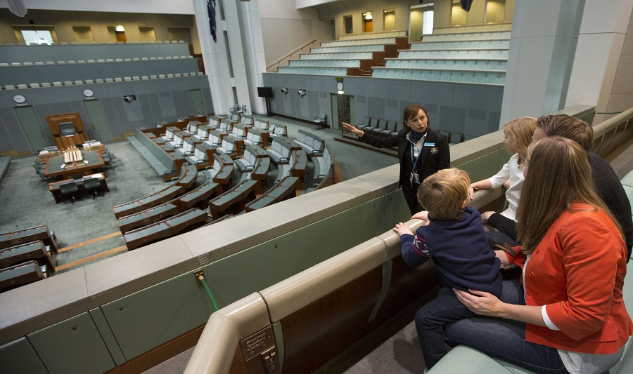 Inside Parliament House