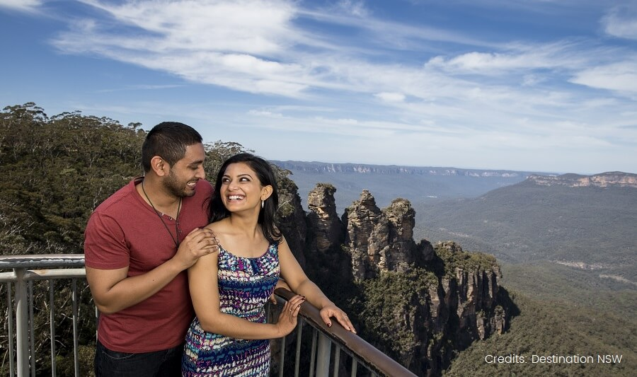 Echo Point lookout, Blue Mountains
