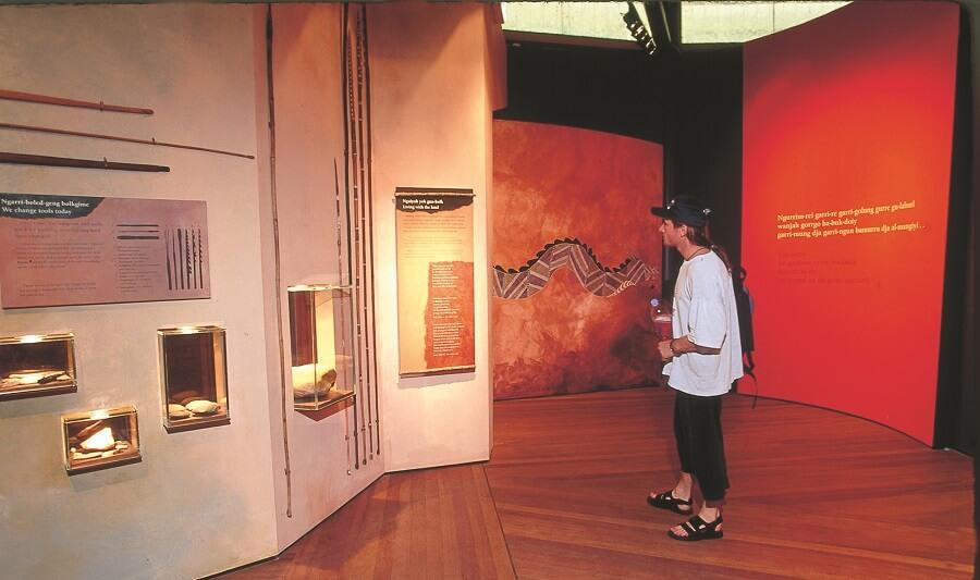 Warradjan Aboriginal Culture Centre at Cooinda