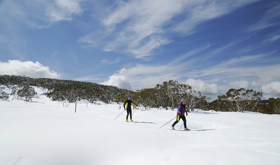 Skiing on Mount Buller
