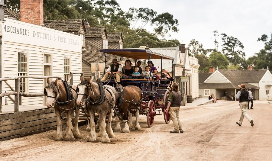 Horse Ride around Sovereign Hill