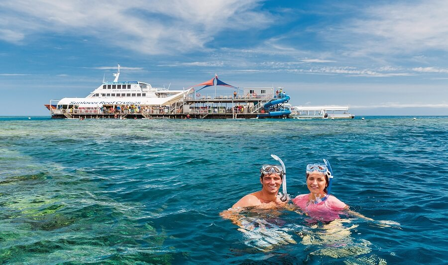 Snorkeling activity with Sunlover Cruises