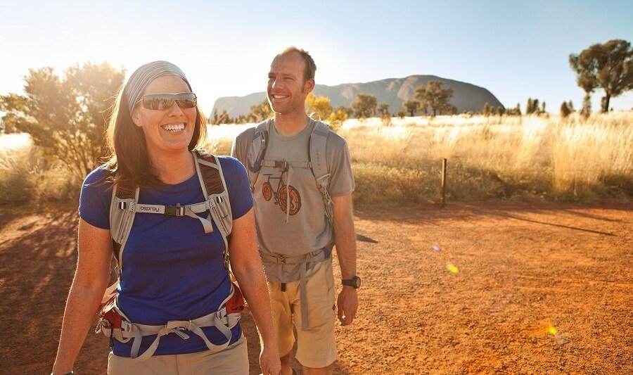 People at Uluru