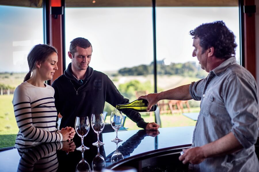 Mock Red Hill Winery Tastings