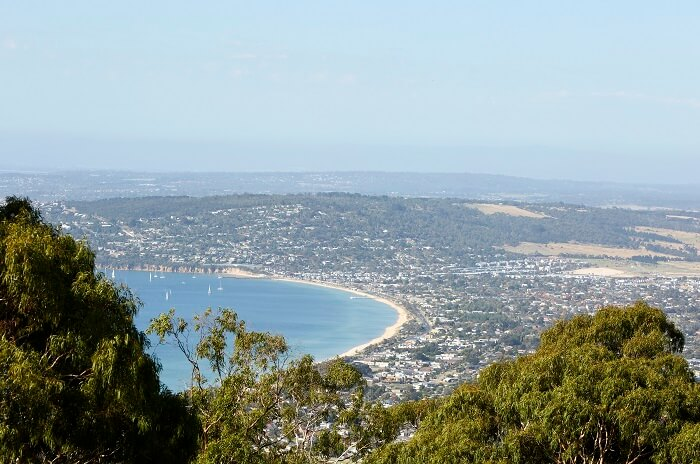 View from Arthurs Seat