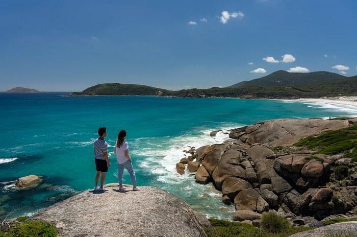 Exploring picturesque beaches