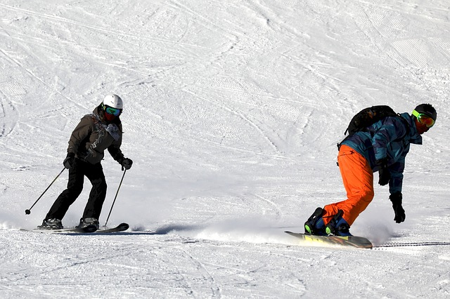 Ski and Snowboarder, Mount Buller
