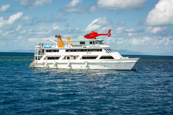 Great Barrier Reef Diving Boat