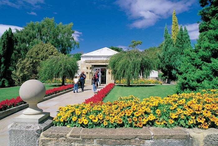 Morning Hobart City Tour Royal Tasmanian Botanical Gardens